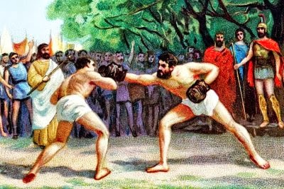 an analysis of boxing in ancient greece Ancient greece (greek: ελλάς, translit ellas) was a civilization belonging to a period of greek history from the greek dark ages of the 13th–9th centuries bc.